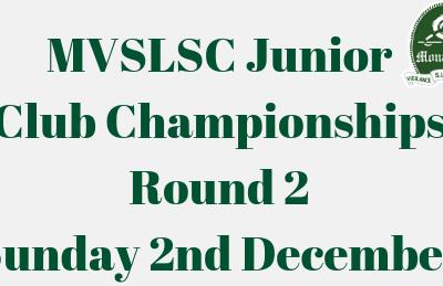 2018 Junior Club Championships – Round 2