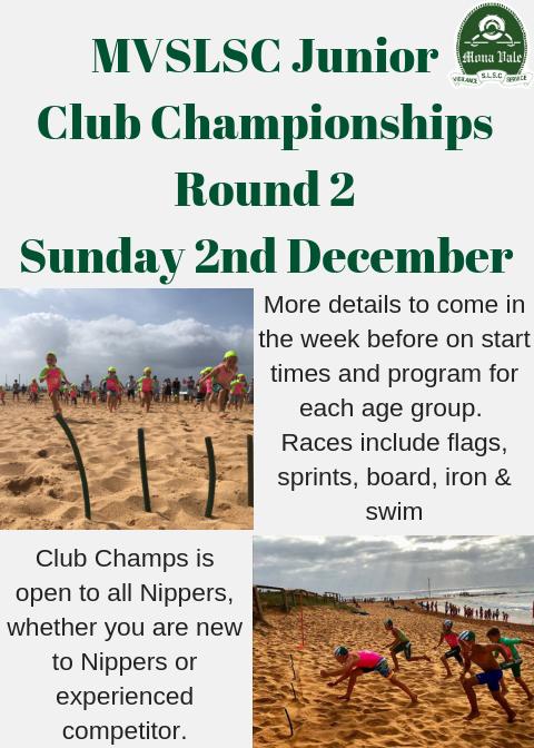 2018 Junior Club - Round 2