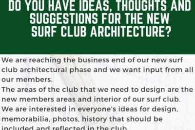 New club house input