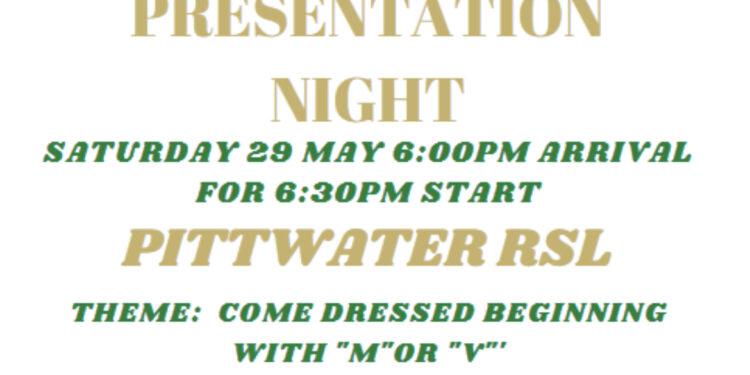 2021 Presentation Night